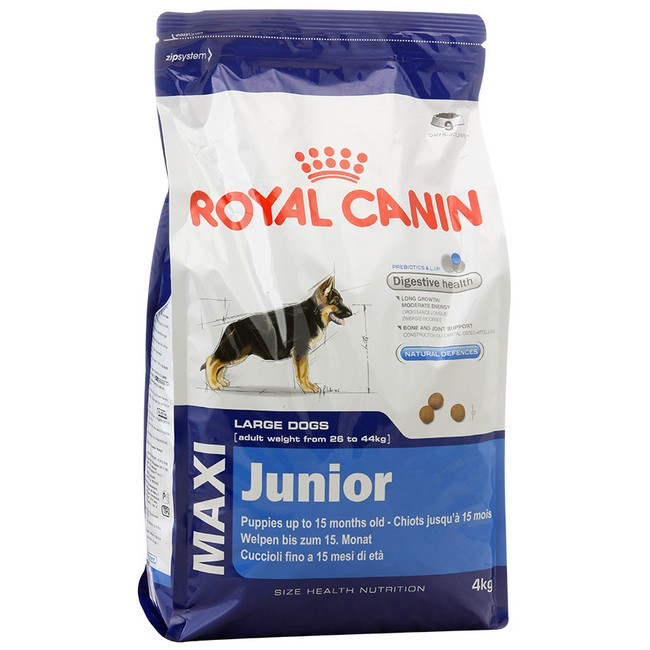 Royal Canin Maxi Junior.