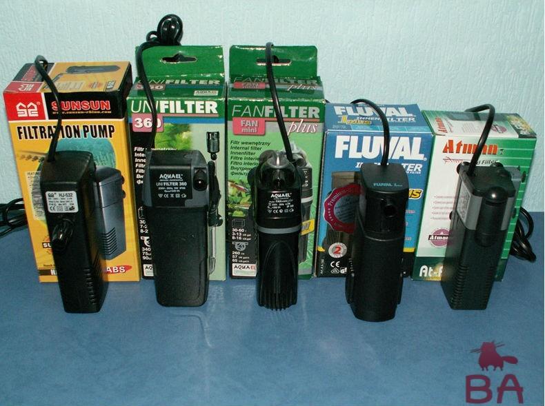 Аквариумные фильтры фото
